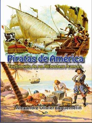 cover image of Piratas de América