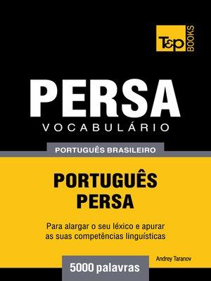 cover image of Vocabulário Português Brasileiro-Persa