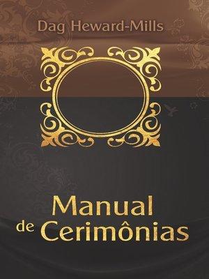 cover image of Manual de Cerimônias