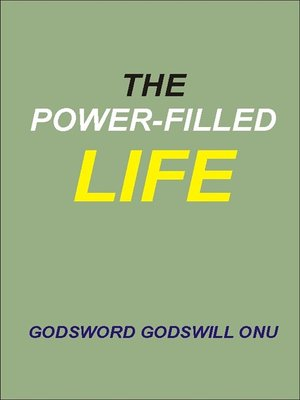 cover image of The Power-Filled Life