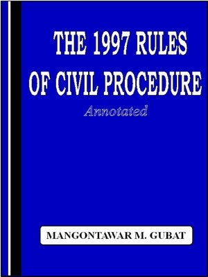 1997 rules of civil procedure pdf