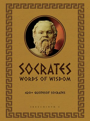 cover image of Socrates Words of Wisdom