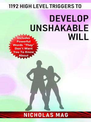 cover image of 1192 High Level Triggers to Develop Unshakable Will