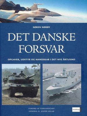 cover image of Det danske forsvar