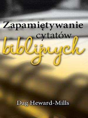 cover image of Zapamiętywanie Cytatów Biblijnych
