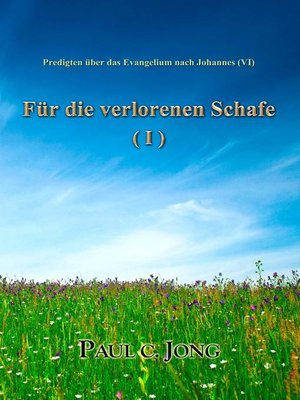 cover image of Predigten über das Evangelium nach Johannes (VI)--Für die verlorenen Schafe (I)