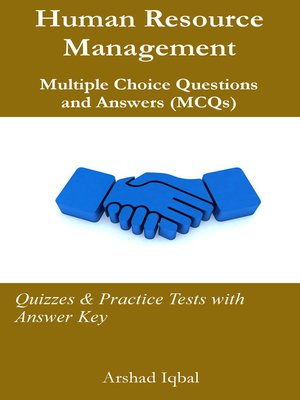 cover image of Human Resource Management Multiple Choice Questions and Answers (MCQs)