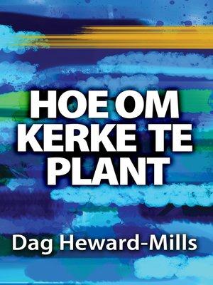 cover image of Hoe om Kerke te Plant