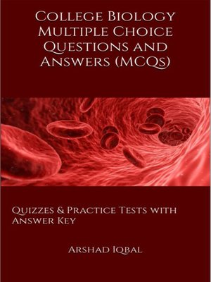cover image of College Biology MCQs
