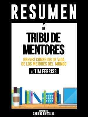 cover image of Tribu De Mentores