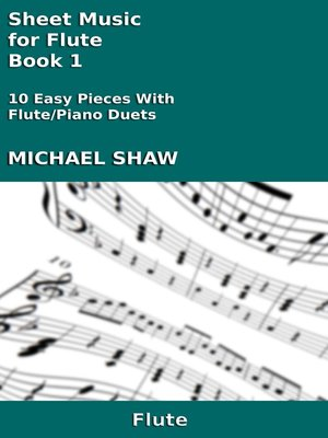 cover image of Sheet Music for Flute