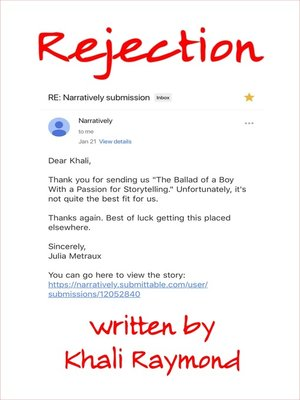 cover image of Rejection