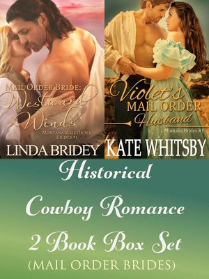cover image of Historical Cowboy Romance Two Book Box Set