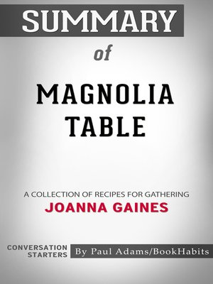 cover image of Summary of Magnolia Table
