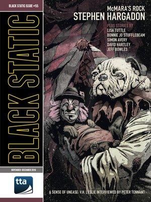 cover image of Black Static #55 (November -December 2016)
