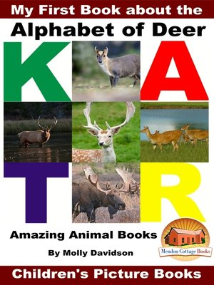 cover image of My First Book about the Alphabet of Deer