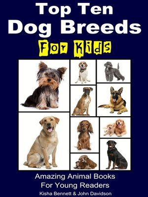 cover image of Top Ten Dog Breeds for Kids