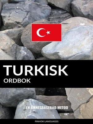 cover image of Turkisk ordbok