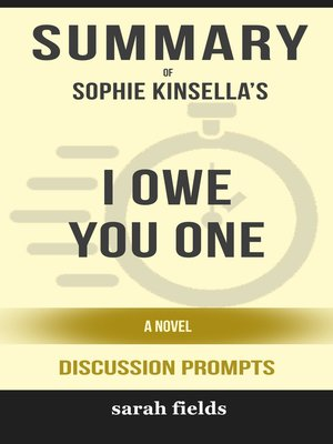 cover image of Summary of I Owe You One