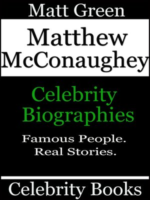 cover image of Matthew McConaughey