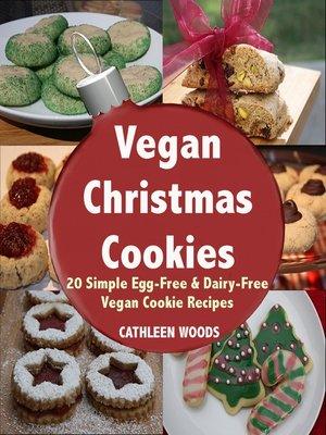 cover image of Vegan Christmas Cookies