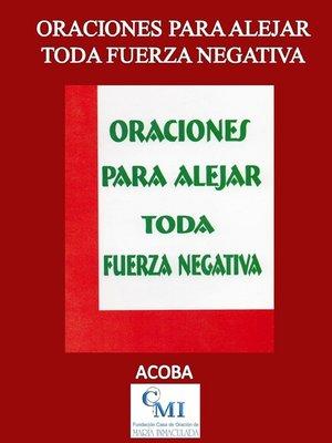 cover image of Oraciones para Alejar Toda Fuerza Negativa