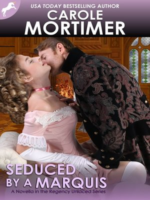 cover image of Seduced by a Marquis (Regency Unlaced 8)