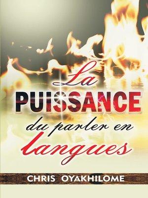 cover image of La Puissance Du Parler En Langues