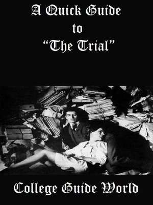 """cover image of A Quick Guide to """"The Trial"""""""
