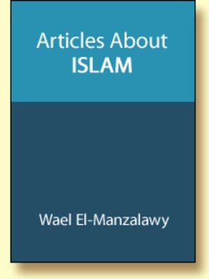 cover image of Articles About Islam