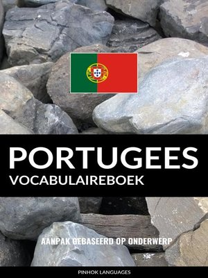 cover image of Portugees vocabulaireboek