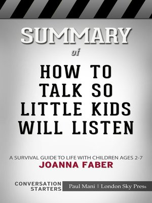 cover image of Summary of How to Talk so Little Kids Will Listen