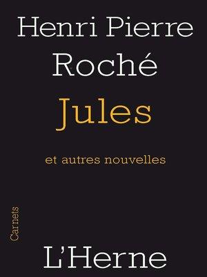 cover image of Jules et autres nouvelles
