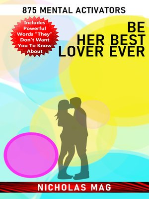 cover image of Be Her Best Lover Ever