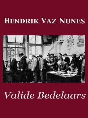 cover image of Valide Bedelaars