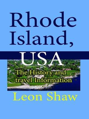 cover image of Rhode Island, USA