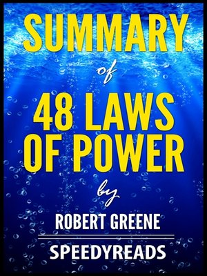 cover image of Summary of 48 Laws of Power by Robert Greene