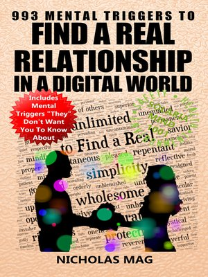 cover image of 993 Mental Triggers to Find a Real Relationship in a Digital World