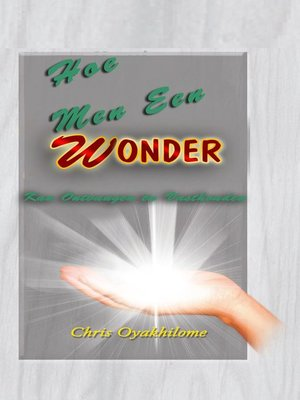 cover image of Hoe Men Een WONDER Kan Ontvangen èn Vasthouden