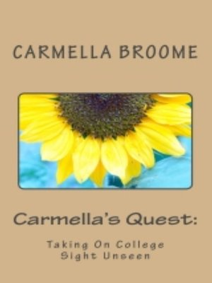 cover image of Carmella's Quest