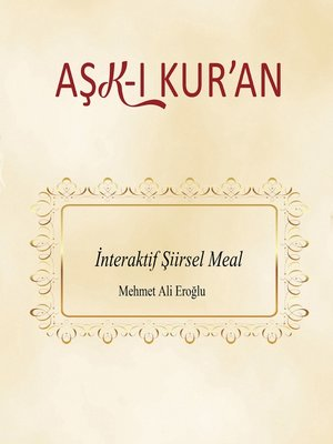 cover image of Aşk-ı Kur'an
