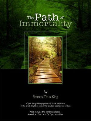 cover image of The Path of Immortality