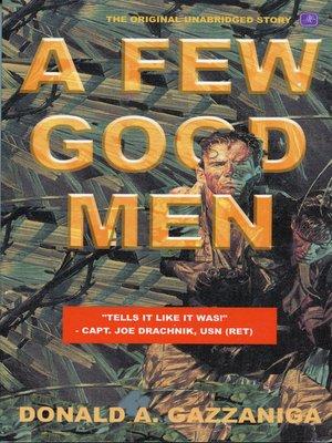 cover image of A Few Good Men