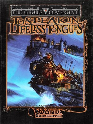 cover image of To Speak in Lifeless Tongues