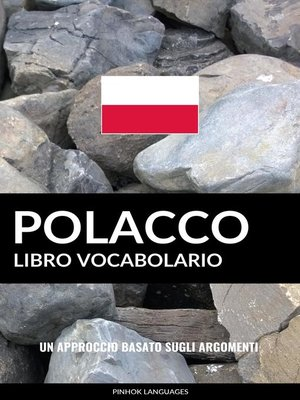 cover image of Libro Vocabolario Polacco