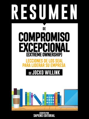 cover image of Compromiso Excepcional (Extreme Ownership)