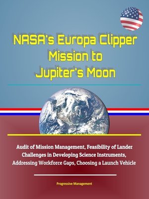 cover image of NASA's Europa Clipper Mission to Jupiter's Moon