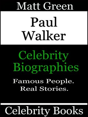 cover image of Paul Walker