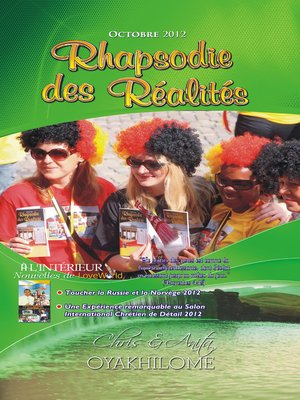 cover image of Rhapsody of Realities October 2012 French Edition