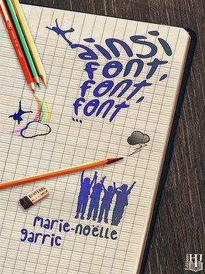 cover image of Ainsi font, font, font...